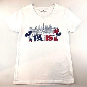 Disneyland Paris Womens Sz Medium Mickey & Minnie